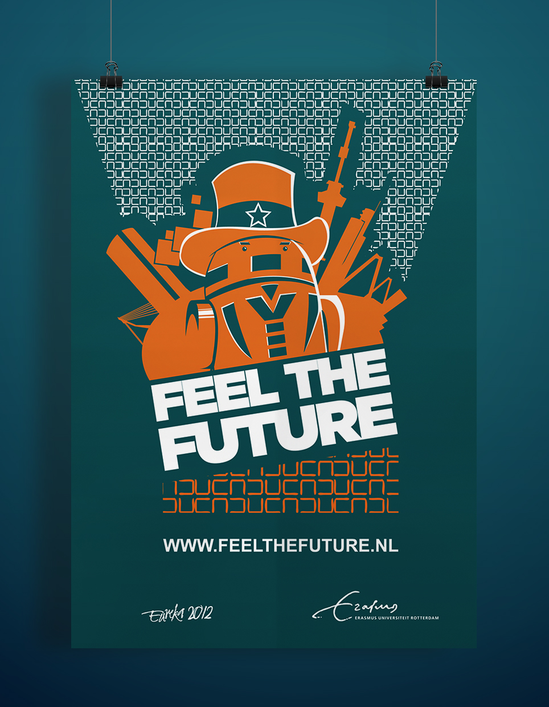 poster erasmus universiteit robot