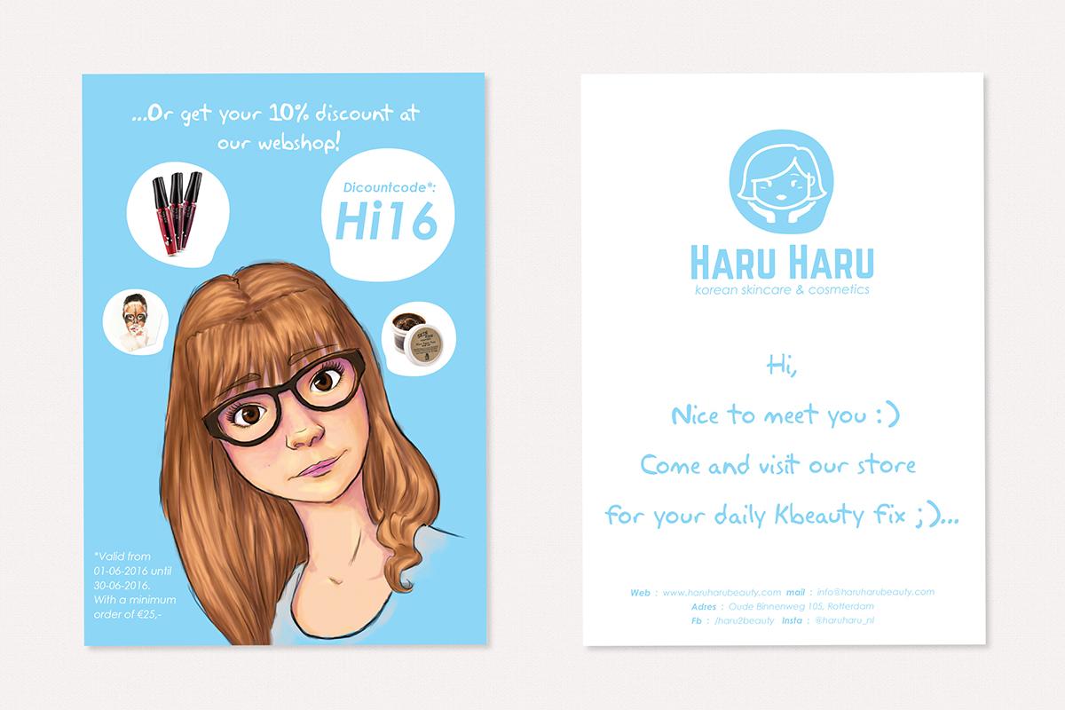 flyer, haru haru beauty