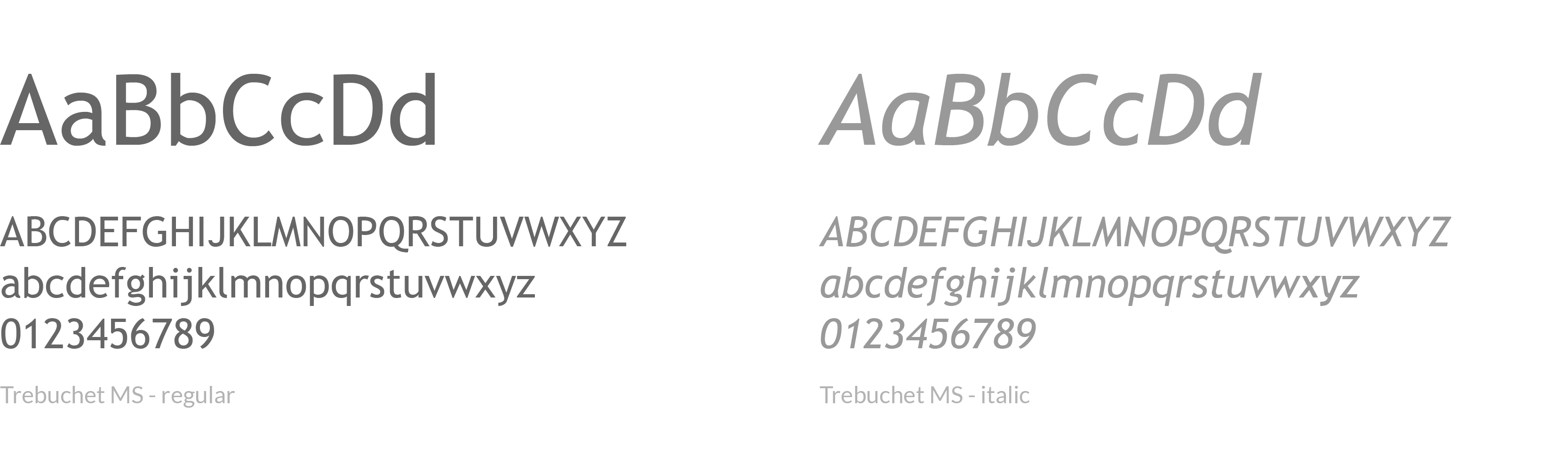 lettertype huisstijl, rabbits company