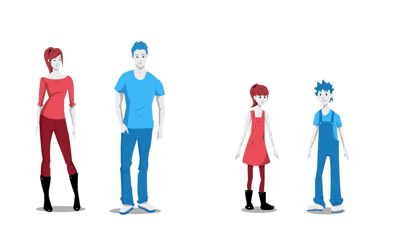 werken aan je toekomst - florian tv network - illustratie mensen