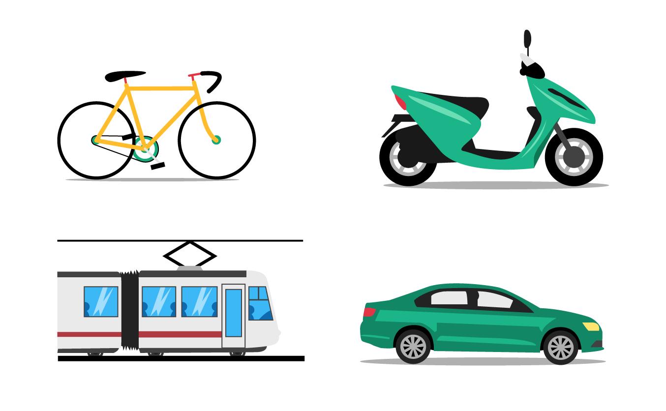 werken aan je toekomst - florian tv network - illustratie vervoer
