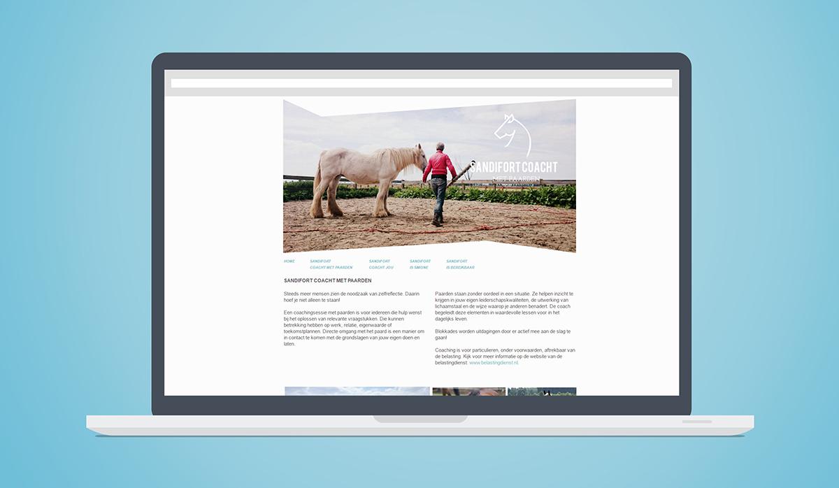 sandifort coacht met paarden website coaching